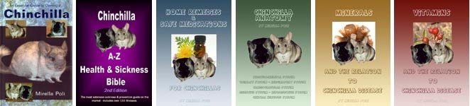 Chinchilla books written by published chinchilla author - Mirella Poli