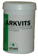 Chinchilla Supplementation - Arkvits is a great addition to a chinchilla's diet and can be sprinkled on to pellets daily.